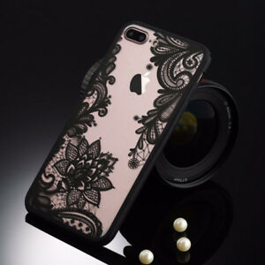 Retro Floral Phone Case For Apple iPhone 7
