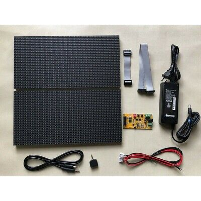 Two-display Full Color Music Spectrum Display 64 Mode As128 Control Board Kit