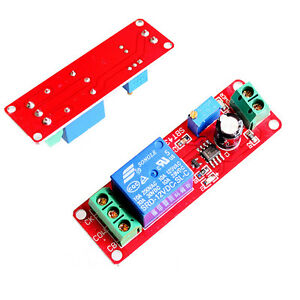 NE555 DC 12V Delay Timer Switch Adjustable 0 to 10 Second Monostabillity