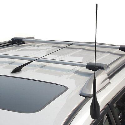 Auto Car Bus Top Roof Mount AM FM Radio Antenna Aerial Base Kit Black MT