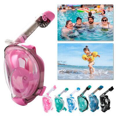 Schnorchelmaske Anti Leak Anti Fog Tauchmaske Seaview Tauchermaske Maske Kinder