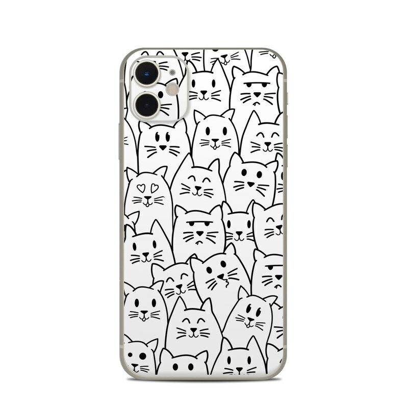 iPhone 11 Skin - Moody Cats - Sticker Decal