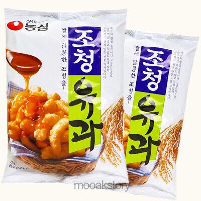 [Nongshim] Chochung U-Gua Crispy Sweet Korean Traditional Rice Snack 96 g × 2 ea