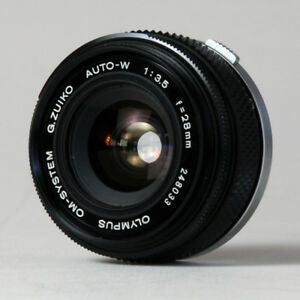 Olympus OM 28 3.5 zuiko G PRIME wide angle lens