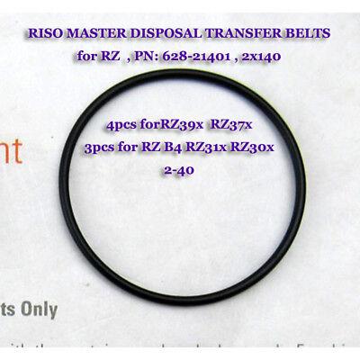 Master Removal Belts For Riso Rz39x Rz37x Rz31x Rz30x Disposal Transfer Belts