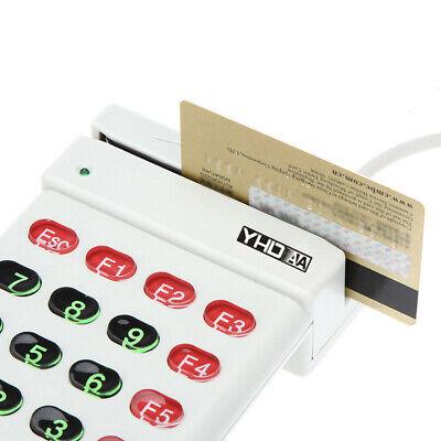 Usb Magnetic Stripe Card Reader Credit Card W Numeric Keypad