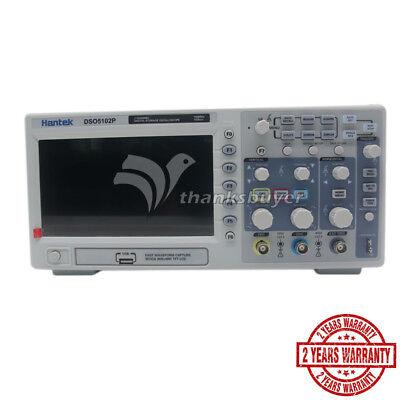 New Hantek Dso5102p Digital Oscilloscope 100mhz 2ch 1gss 7 Tft Lcd 800x480