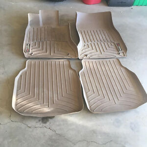 BMW, SET OF WEATHER TECH MATS SET REAR AND FRONT ,SET OF 4
