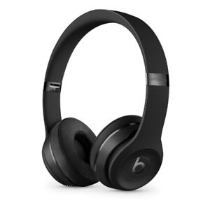 Beats Solo3 Wireless On-Ear Headphones - Matt Black