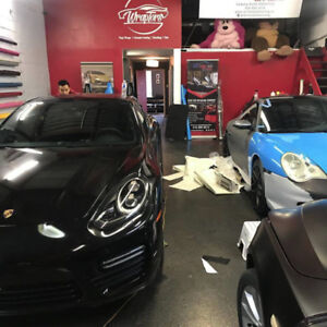 VINYL WRAPPING | TINTING | CERAMIC COATINGS