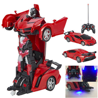 Toys for Kids Transformer RC Robot Car Remote Control 2 IN 1 Boy Baby Xmas Gift (Transformers For Kids)