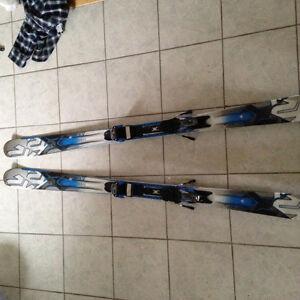 Ensemble de ski avec botte