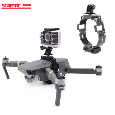 Camera Holder LED Light Bracket Mount For DJI Mavic Pro Platinum Drone Gopro