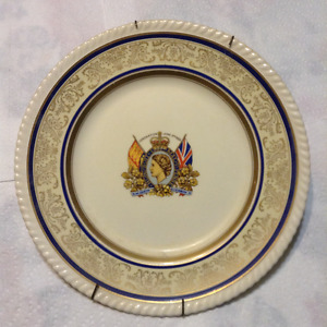 1953 queen Elizabeth coronation plate