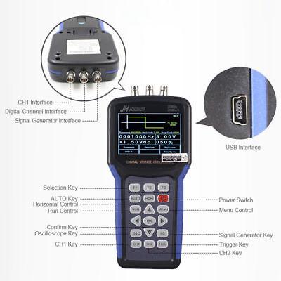 Jds2023 Handheld Lcd Digital Storage Oscilloscope Signal Generator 20mhz 200mss