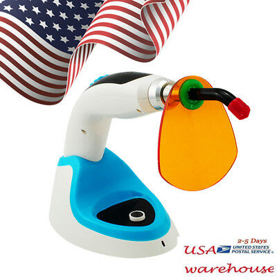 Usa Ship 10w Wireless Cordless Led Dental Curing Light Lamp 2000mw Whitening
