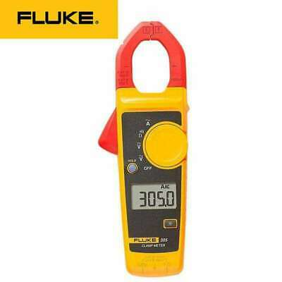 Fluke 305 High Performance Digital Clamp Meter Dmm Electrical Acdc Amperemeter