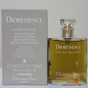 DIORESSENCE by Christian Dior 100ml 3.4oz  EDT (TSTER) Old Formula! Rare!!!