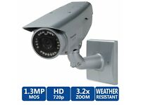 Panasonic WV-SW316LA Outdoor Bullet 1.3MP HD Security Camera
