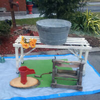 Washtub STAND, WASHER TOP + MORE   * SEE EACH PRICE