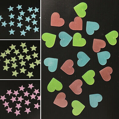 Glow In The Dark Snowflakes (3D Glow in the Dark Stars Fluorescent Stereo Wall Stickers Luminous)