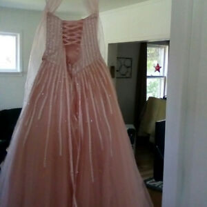 Pink prom dress Size 4/5