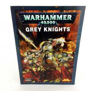 Warhammer 40K Grey Knights Codex Book 5th Edition Games Workshop