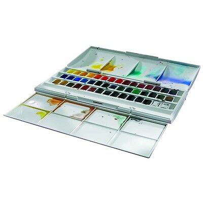 Winsor Cotman  Half Pan Studio Set 0390471 Aquarell Farbenset