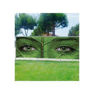 Paravento separ scenografia stampato per giardino balcone - Separe per giardino ...