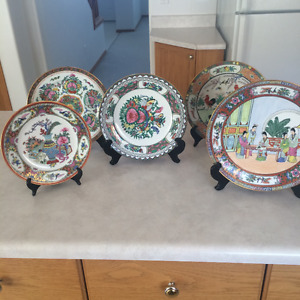 Vintage Chinese Plates (5)