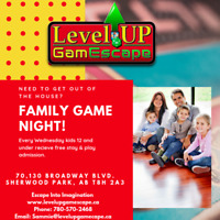 Family Game Night with Level Up