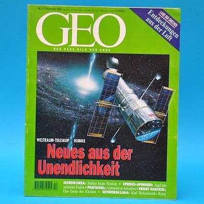 GEO Magazin 12/1996 Hubble Nordkorea Pantanal Birkenstock Ernst Haeckel Hellas