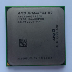 Processeur AMD Athlon 64 X2 3800+ Socket AM2, double coeur