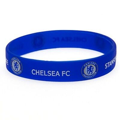 CHELSEA F.C. RUBBER  WRISTBAND OFFICIAL PRODUCT FREE U.K. P&P