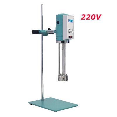 Intbuying 220v Digital High Shear Mixer Emulsifying Machine Lab Equipment 300w