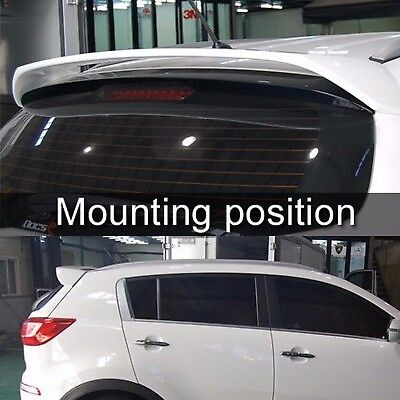 Rear Spoiler Roof Window Wing Trunk Painted For KIA 2011-2016 Sportage R