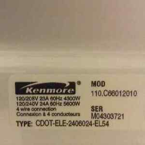 Kenmore Front Load Dryer - Rarely Used - Works Well! London Ontario image 5