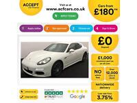 PORSCHE PANAMERA 3.0 V6 D 300 TIPTRONIC S PLATINUM EDITION FROM £180 PER WEEK!