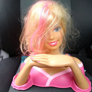 Barbie Hair and Nails Head by Mattel