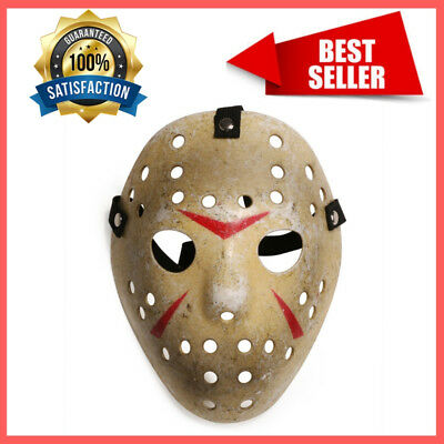 Kids Halloween Mask Friday The 13th Hockey Mask Costume Jason Voorhees Horror - Jason Voorhees Kids Costume