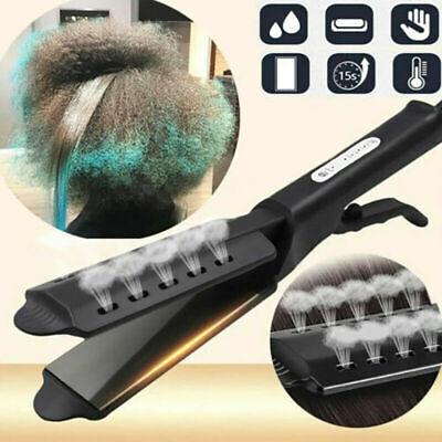 Hair Straightener Four Gear Ceramic Tourmaline Ionic Flat Iron Glider for Salon