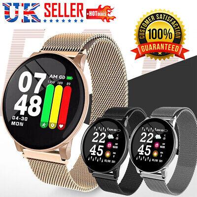 Waterproof Smart Watch Fitness Tracker Blood Pressure Heart Rate Monitor Woman