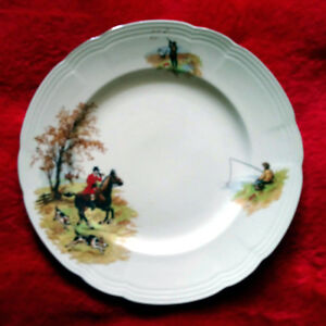 "Alfred Meakin ""Country Life"" Plate"