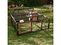 Brand new x large Outback Grande Outdoor Run and House - 4 sided