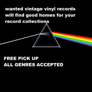 WANTED VINYL RECORDS ALL GENRES