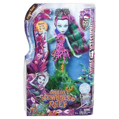 MONSTER HIGH POSEA REEF GREAT SCARRIER REEF FASHION DOLL TOY