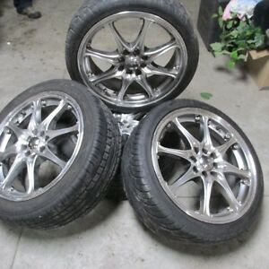 "17"" Konig Rims and Tires                         4x100 & 4x114.3"