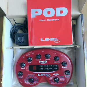 Line 6 POD 2.0 with box, manual, CD, transformer West Island Greater Montréal image 2