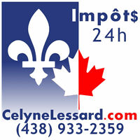Impôts en 24h sans vous déplacer / Taxes in 24h without moving