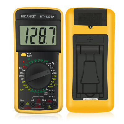 Digital Multimeter Tester Probe Capacitor Capacitance Meter Current